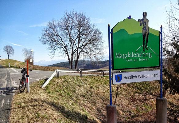 Da geht es auf den Magdalensberg