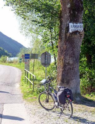 An der österreichischen Grenze