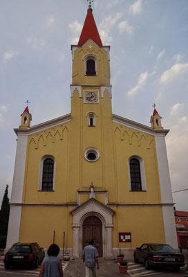 Kirche in Brtoglia