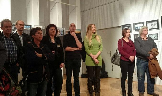 Natalia Slatosch (in grün) erhielt den Sonderpreis für das Bild des Jahres