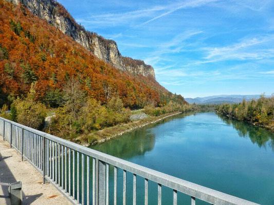 Draubrücke bei Galizien