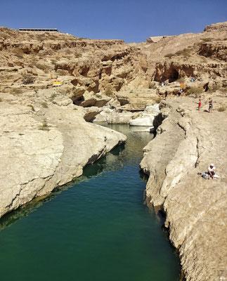 Zulauf zum Wadi