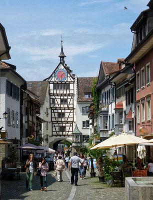 Uhrturm in Stein am Rhein