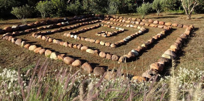 Beim Labyrint