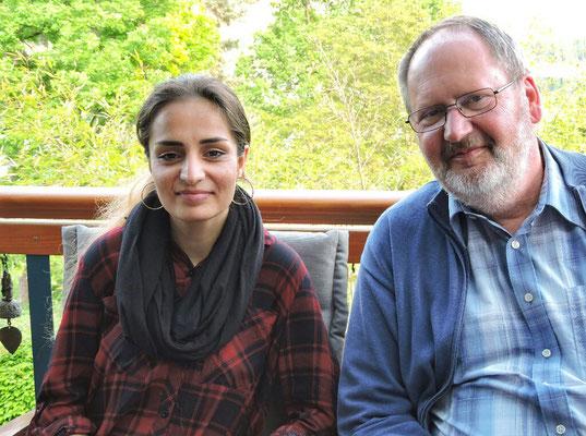 Zahra und Franz