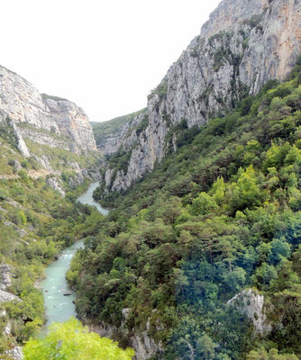 im Canyon du Verdon