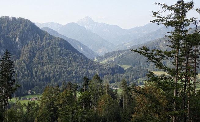 Erster Blick nach Slowenien