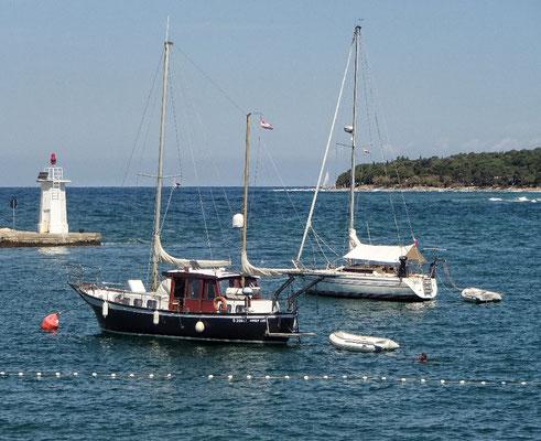 Einige österreichische Boote