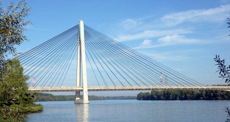 Donaubrücke bei Tulln