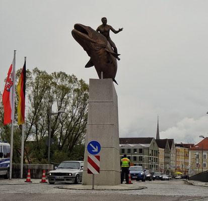 Polizeikontrolle bei der Einreise nach Deutschland