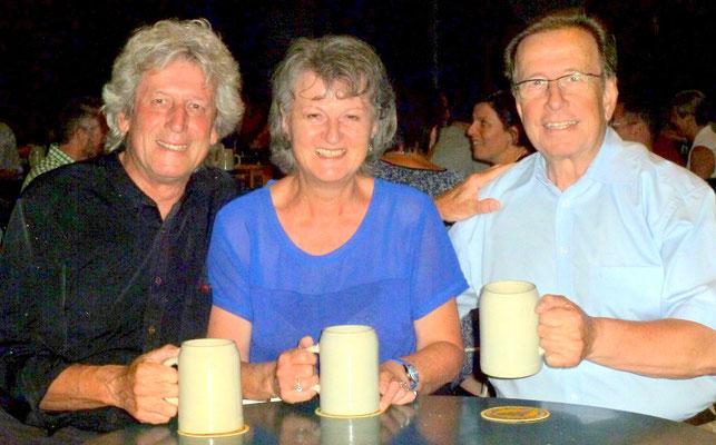 mit Christine und Gerd im Augustienerbräu