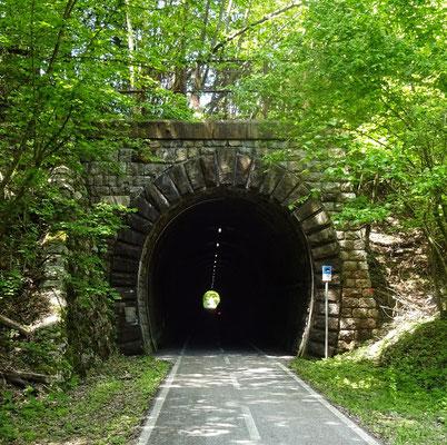Franz im Tunnel