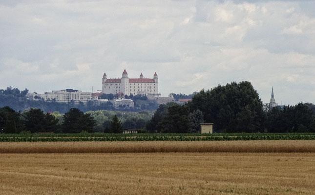 Die Burg zu Bratislava