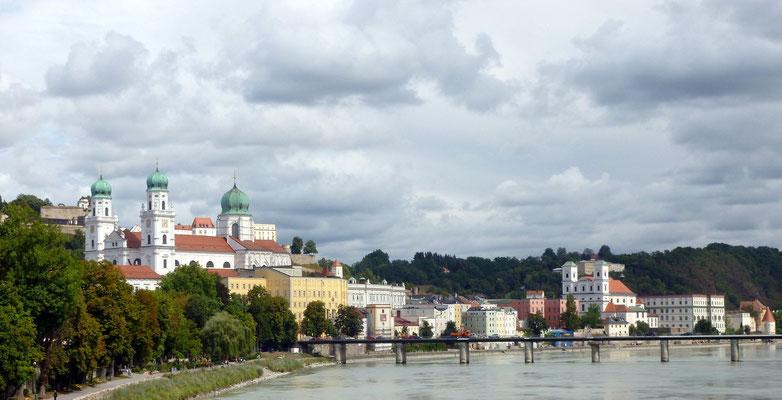 erster Blick auf Passau
