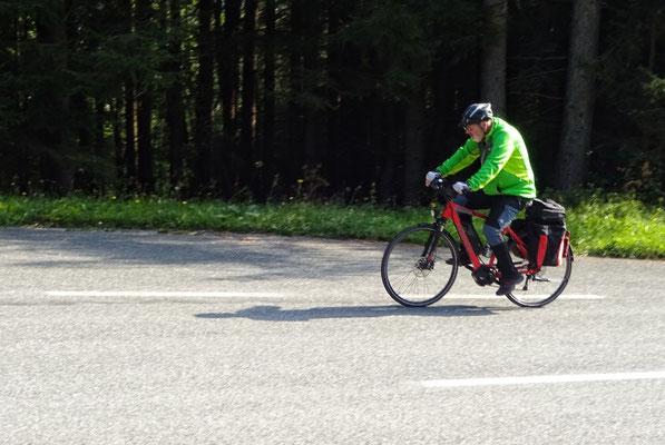 Franz, 3. Platz bei der Bergwertung...