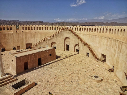 Mauer des Forts