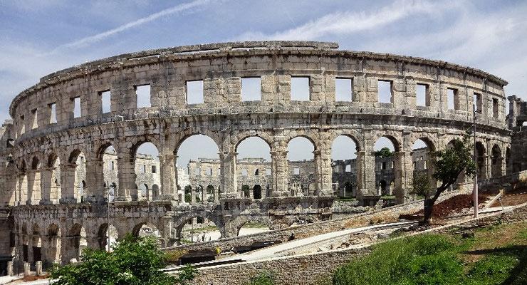 Die 5. größte Arena der Welt in Pula