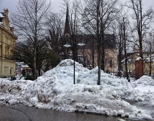 Viel Schnee
