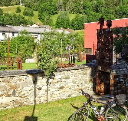 Garten von Fritz Russ