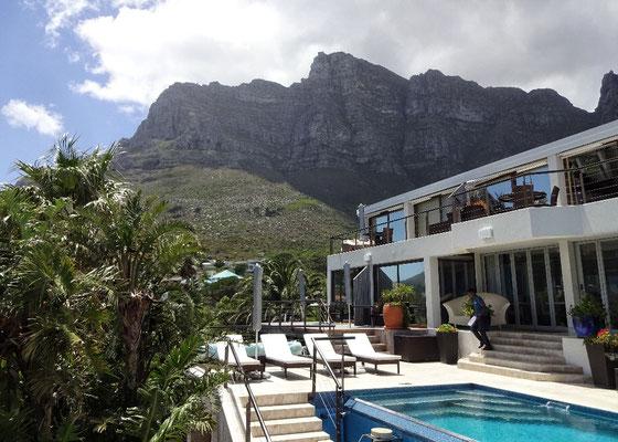Unser Hotel mit Tafelberg