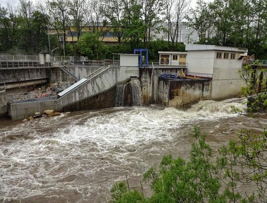Hochwasser in der Mürz