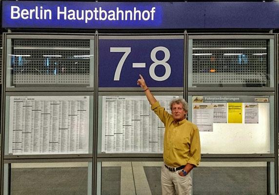 Zwischen Stopp in Berlin