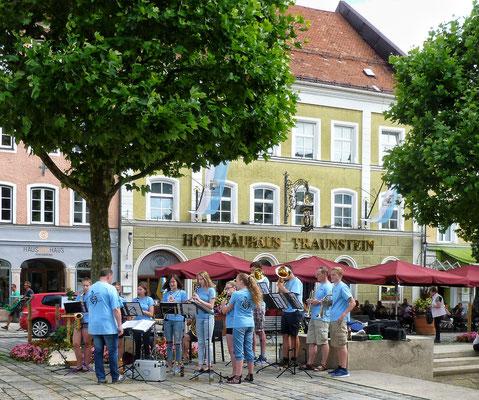 Jugend Blasmusik in Traunstein
