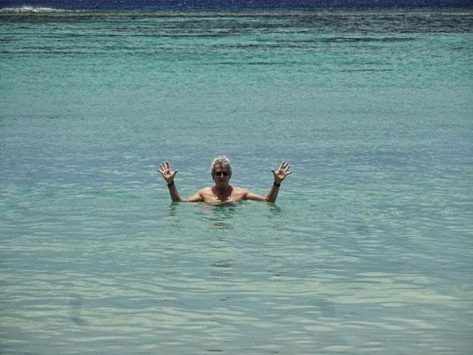 Im indischen Ozean