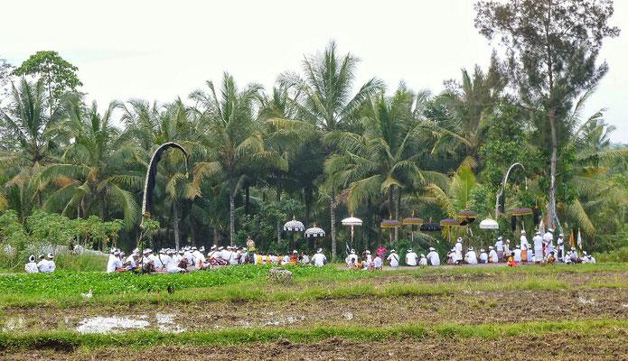 Prozession für sauberes Wasser
