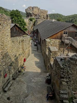 Aggstein vom Burgfried