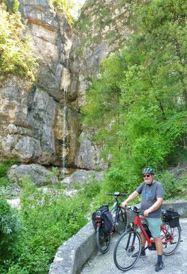 Wasserfall bei Moggio Udinese