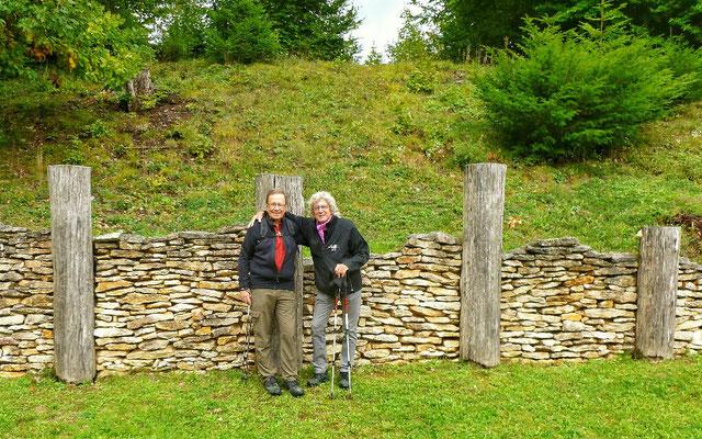 An der keltischen Mauer