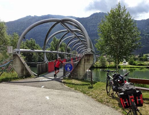 Radbrücke bei Unzmarkt