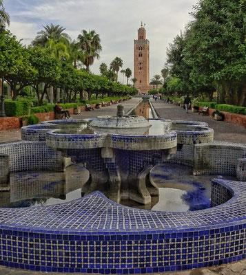 Blick zur großen Moschee