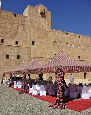 Unser Mittagstisch in der Festung