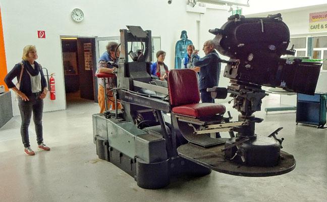 Eine alte ORF Kamera