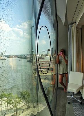 Hotelzimmer Spiegel Studie