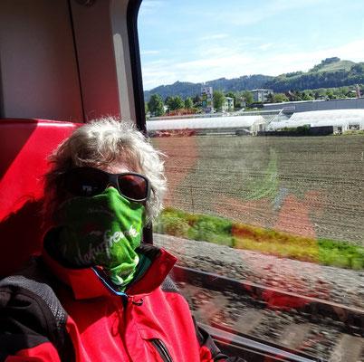 in der S Bahn