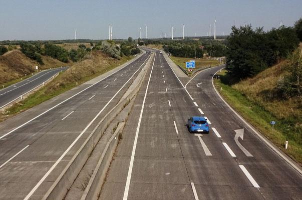 Über der Nord Autobahn