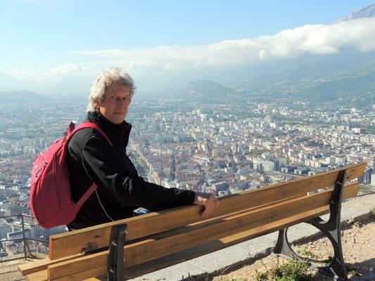 Blick auf Grenoble