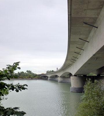 Autobahnbrücke bei Suben