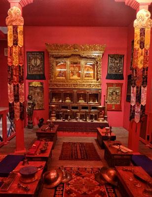Buddhistischer Gebetsraum