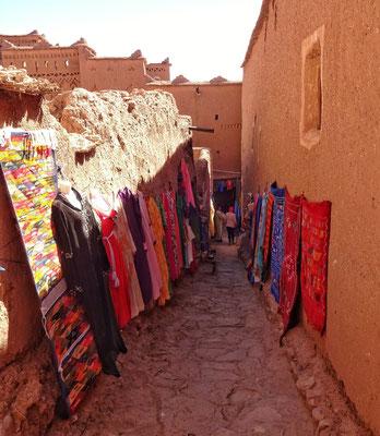 Im Berber Dorf Ait Ben Haddou