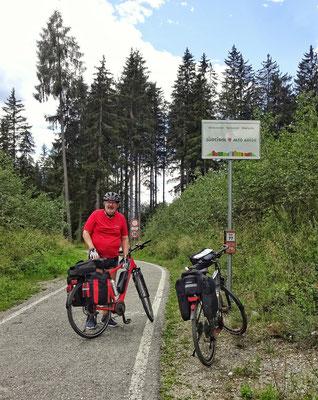 Grenze zu Italien/Südtirol