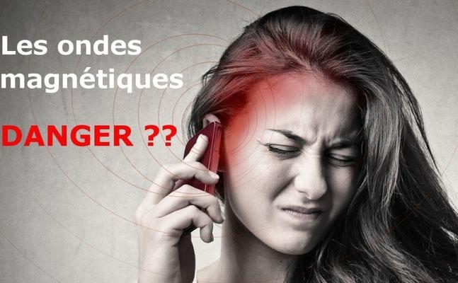 ONDES ELECTROMAGNETIQUES danger telephones