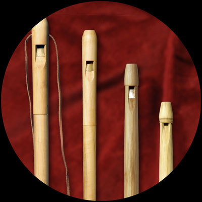 flûtes médiévales
