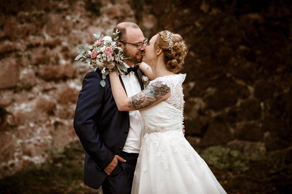 Emotionale Hochzeitsfotografie Goslar Harz