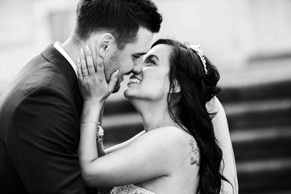 Brautpaarshooting Romantisch