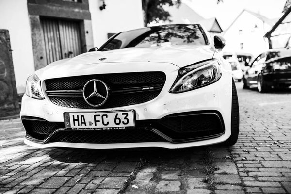 Hochzeitsauto Mercedes AMG