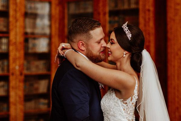 Brautpaarshooting im Schloss Corvey